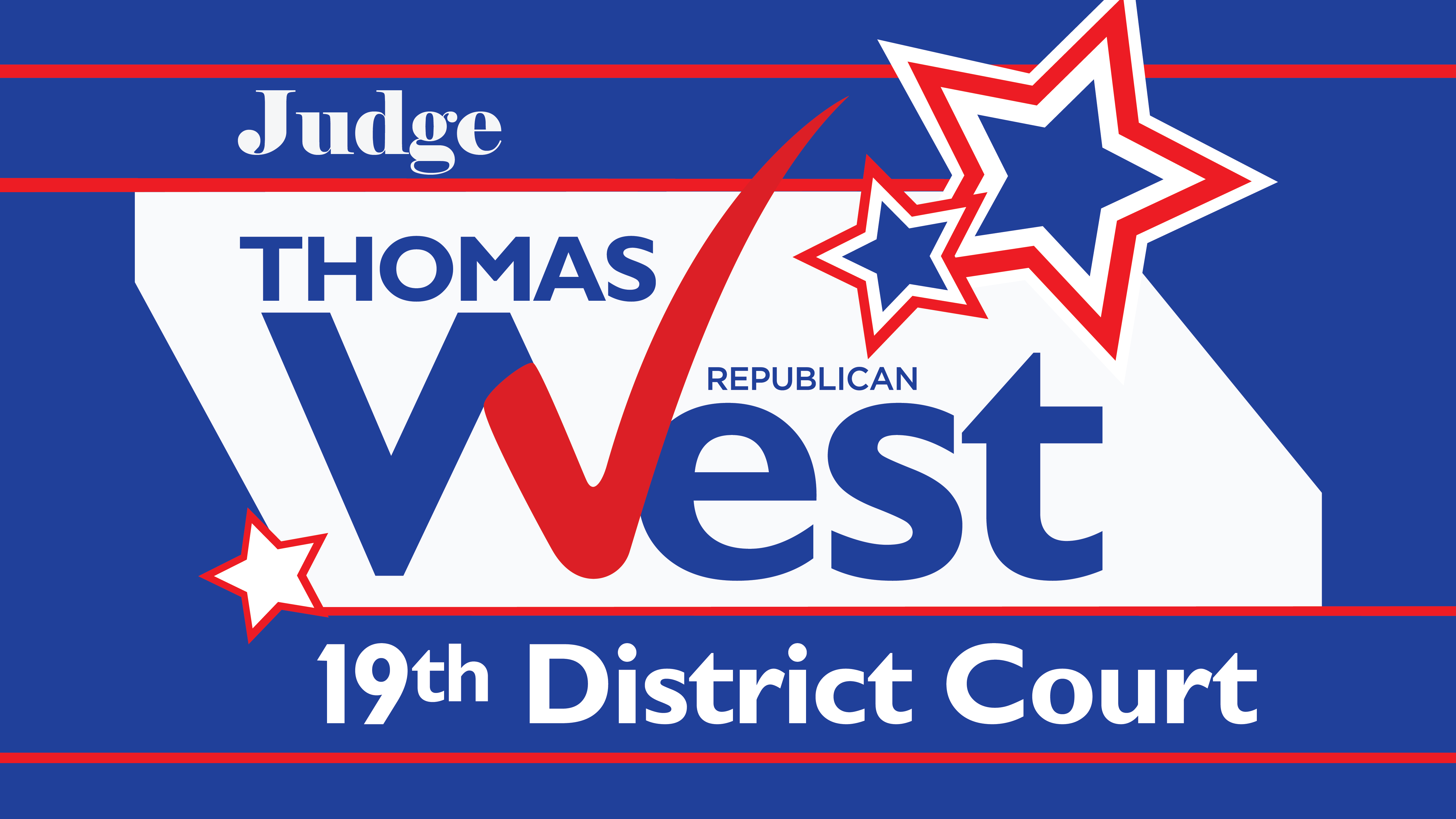 Judge Thomas West Logo